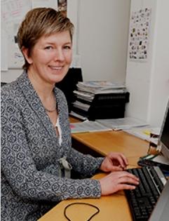 Catherine Gerle, projektledare för Backa Röds Pärlor.