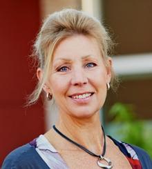Marie Werner, distriktschef på Poseidon.