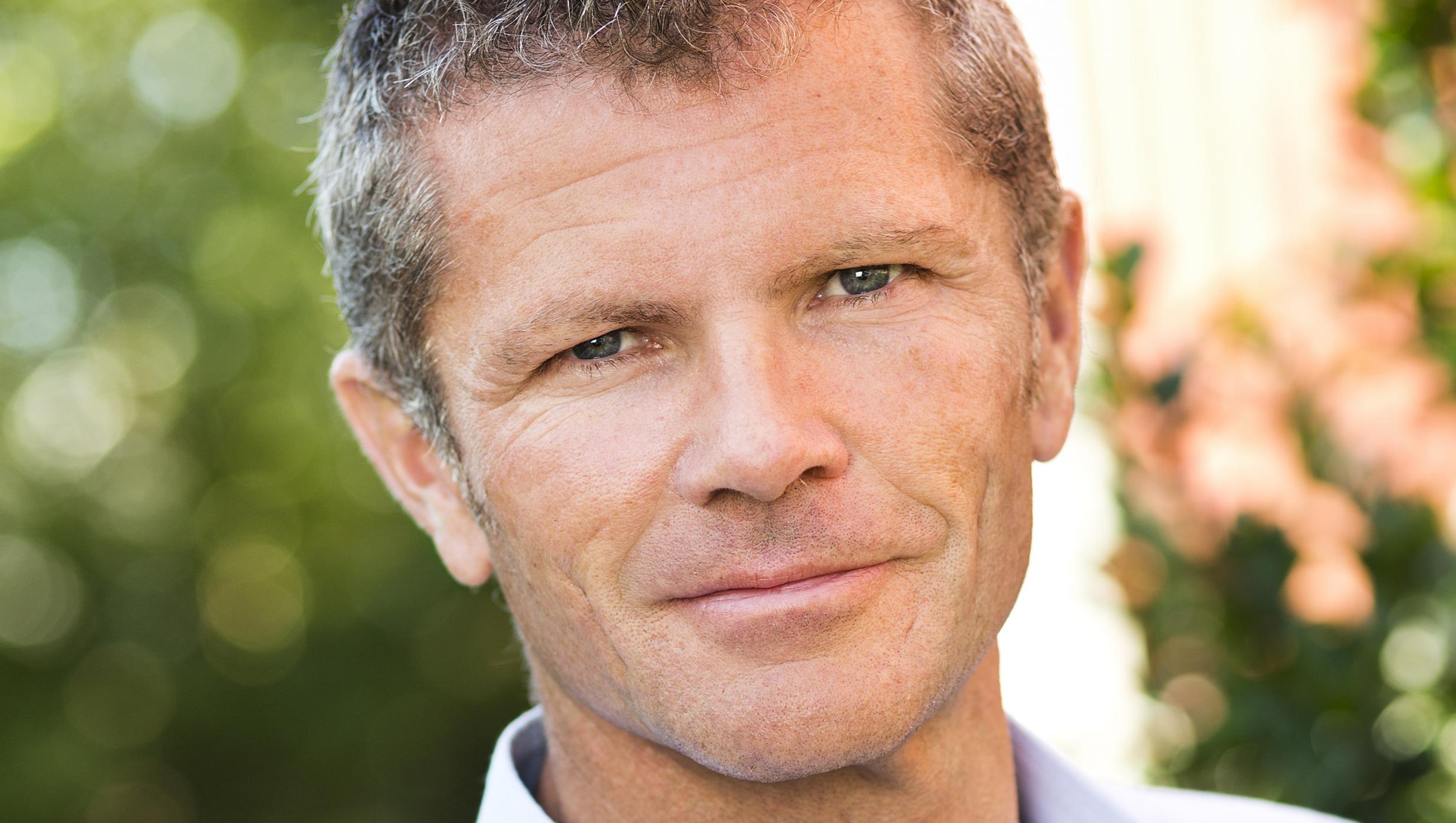 Porträtt på Familjebostäders VD Per-Henrik Hartmann