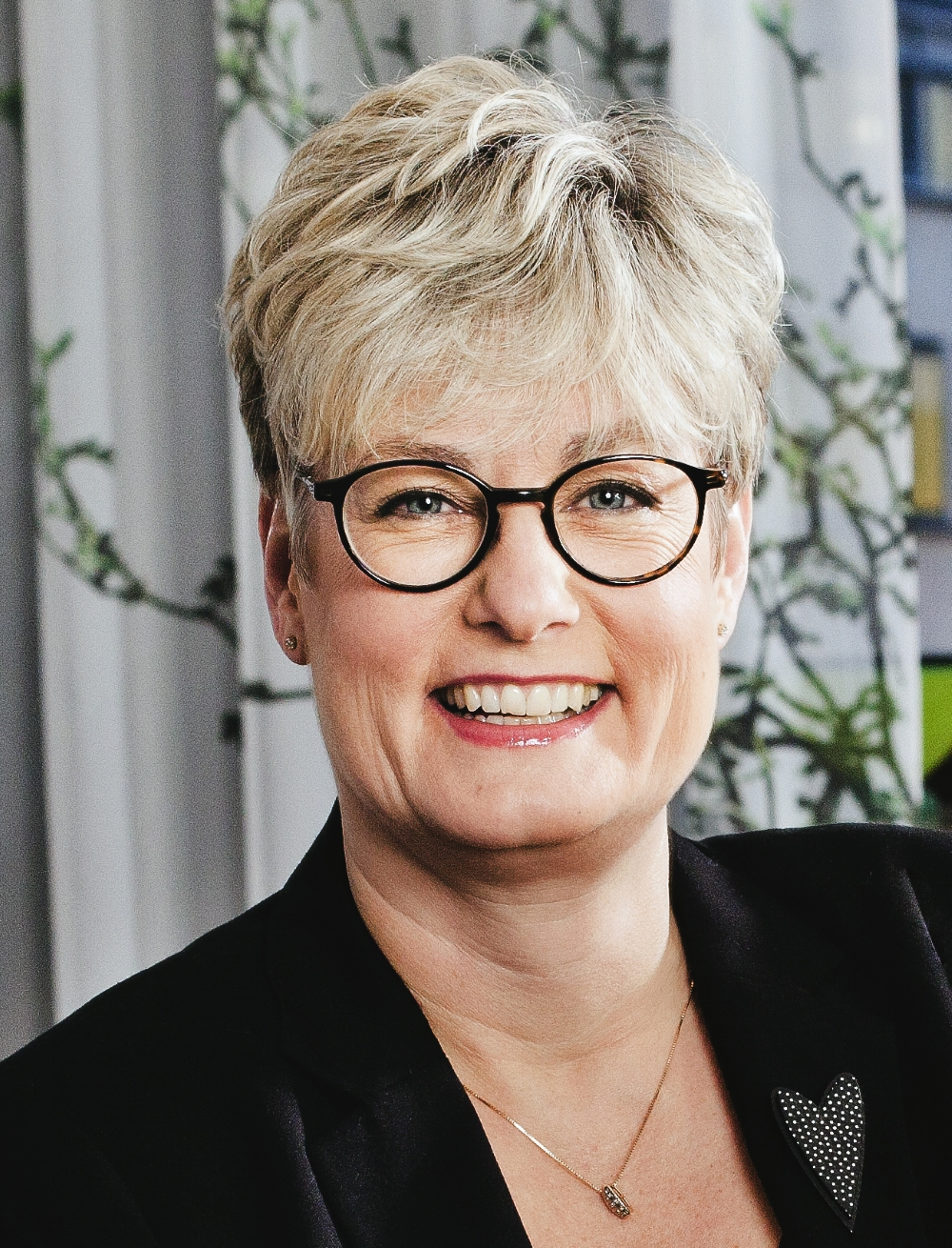 Marie Linder, förbundsordförande för Hyresgästföreningen.