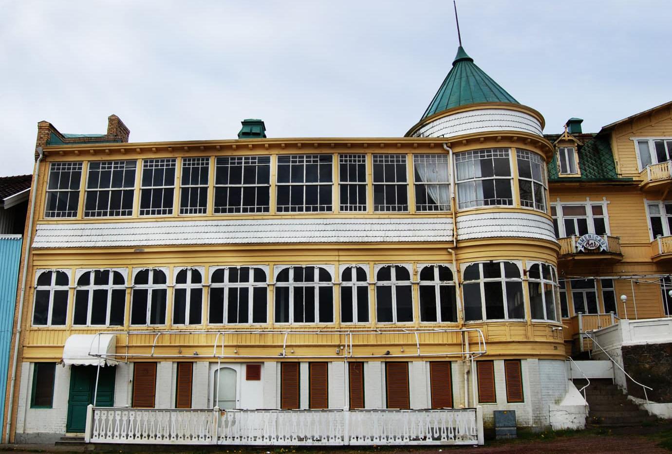 turisthotellet i Marstrand