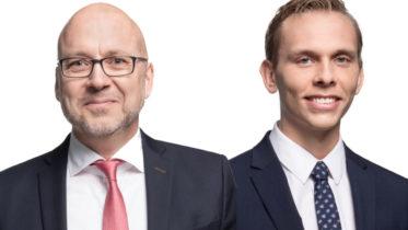 Magnus Landvik och Erik Ellenfors.